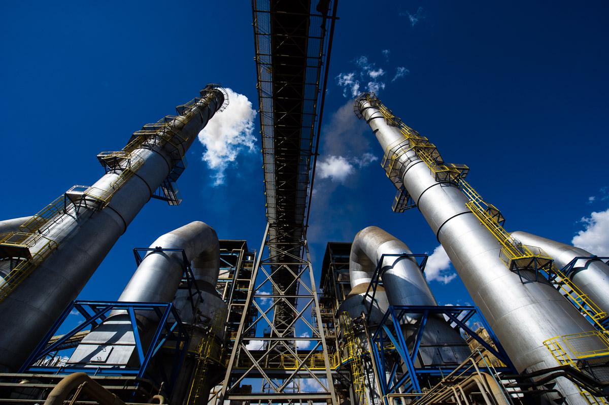Química e Derivados, Usina de Jataí-GO gera eletricidade com o vapor nela produzido