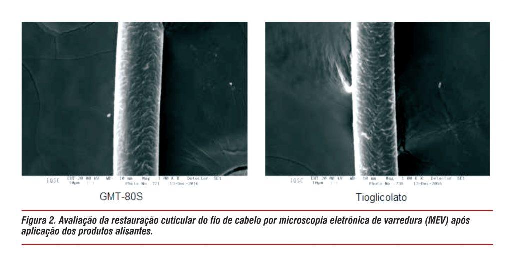Química e Derivados, Comportamento de ação dos novos e antigos alisantes na fibra capilar
