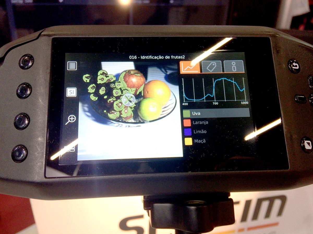 Química e Derivados - Câmara hiperespectral classifica elementos de uma mistura usando IR, como fez com a cesta de frutas
