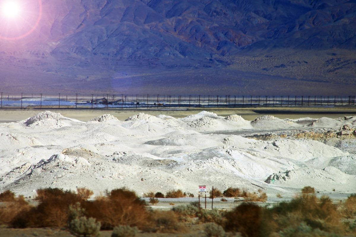 Química e Derivados - Produção de barrilha pesada na Califórinia, EUA